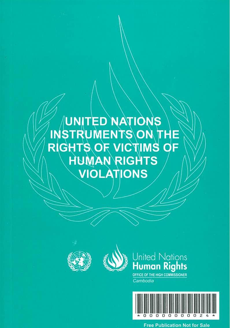 United Nations Instruments on the Rights of Victims of Human Rights Violations