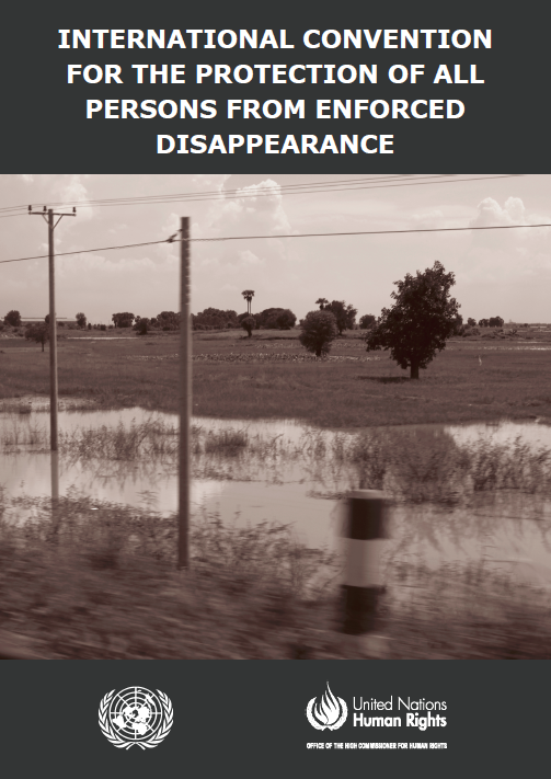 International Convention for the Protection of all Persons from Enforced Disappearance (CED)