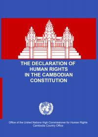 The Declaration of Human Rights in the Cambodian Constitution