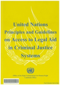 United Nations Principles and Guidelines on Access to Legal Aid in Criminal Justice System