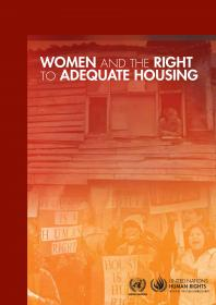 Women And The Right To Adequate Housing