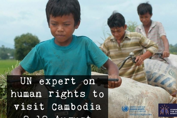 The UN Special Rapporteur on Human Rights in Cambodia, Rhona Smith, will carry out her fourth official visit to Cambodia