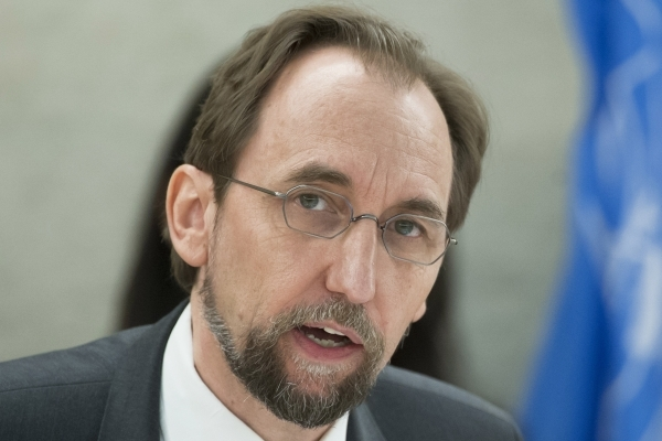 Comment by UN High Commissioner for Human Rights Zeid Ra'ad Al Hussein on arrest of Cambodian opposition leader Kem Sokha