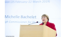 Opening Statement by the UN High Commissioner for Human Rights Michelle Bachelet at the 40th session of the Human Rights Council