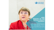 Threats to human rights are rising – but so are solutions, High Commissioner says