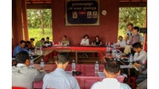 OHCHR participates in multi-stakeholders meeting in Busra area