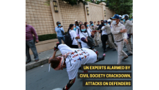 UN experts alarmed by civil society crackdown, attacks on defenders