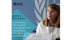 Cambodia: UN expert concerned at escalating tensions and crackdown