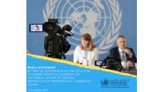 Media statement by Special Rapporteur on the situation of human rights in Cambodia on the partial lifting of judicial restriction of Kem Sokha by Cambodian court