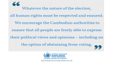UN experts express concerns about media freedoms ahead of vote