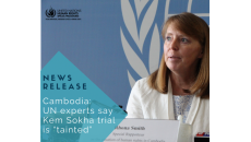 """UN experts say Kem Sokha trial is """"tainted"""""""